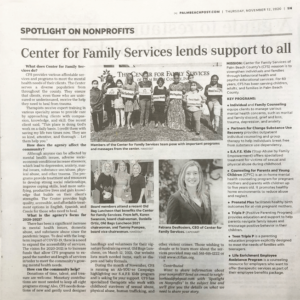 CFS featured in Palm Beach Post