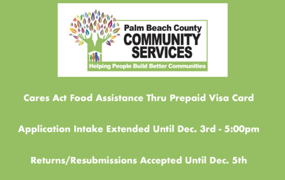 Cares Act Food Assistance Thru Prepaid Visa Card Extended