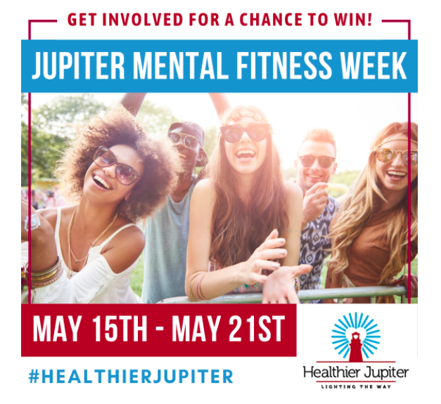 Win Prizes by Joining in Jupiter Mental Fitness Week!